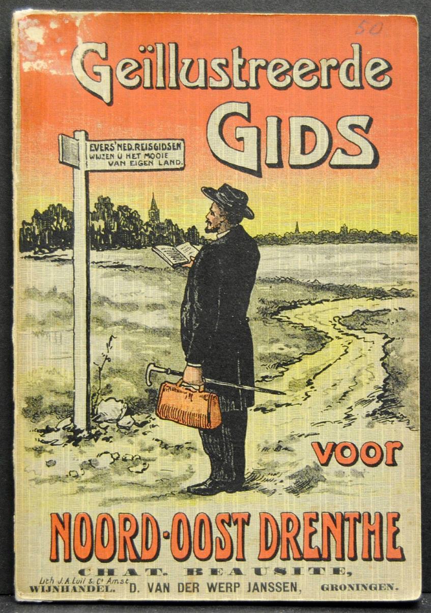 GRONEMAN, DR. F. G. - Geïllustreerde gids voor Noord - Oost - Drenthe ( Nederlandsche reisgidsen 2 )