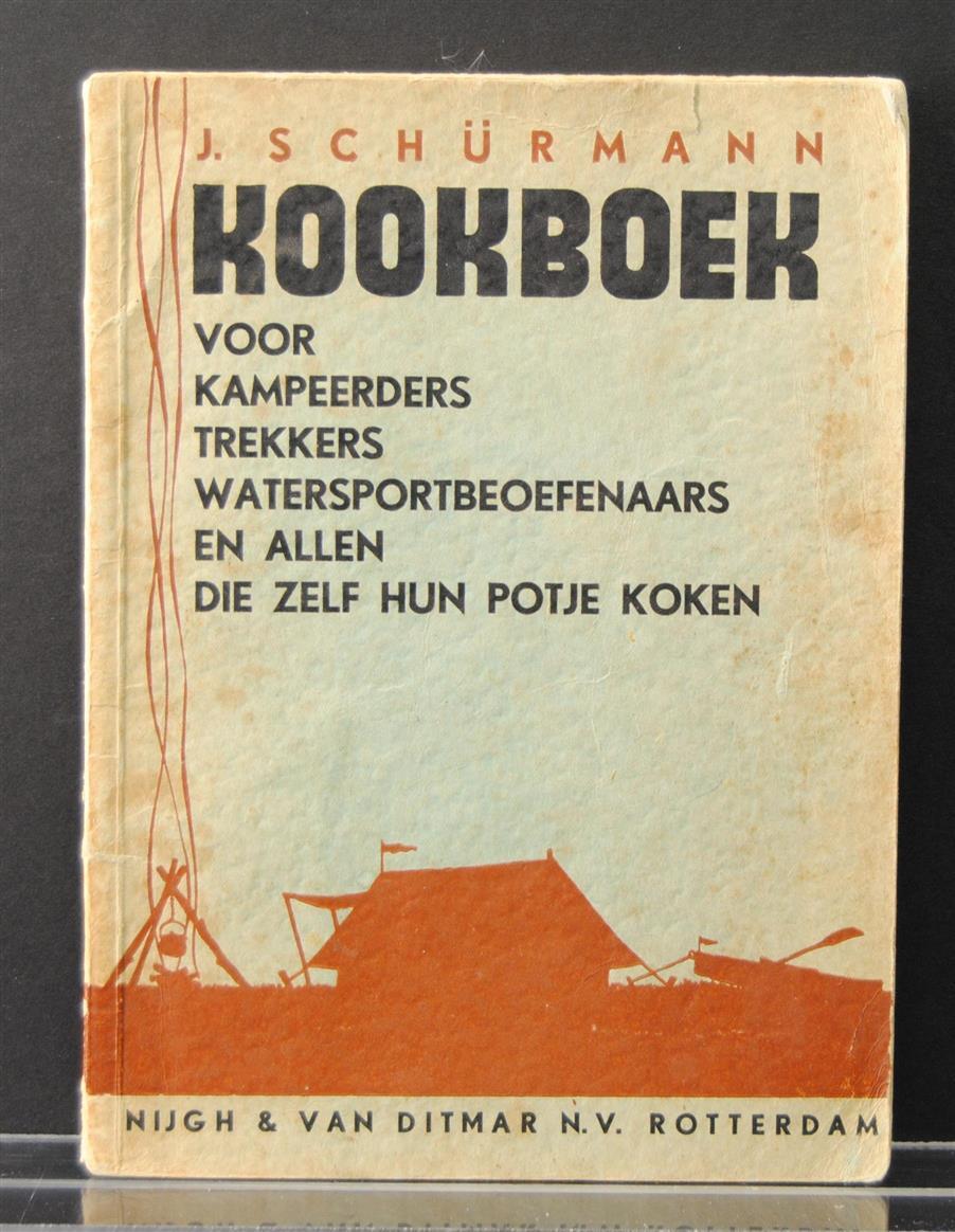 Bouman, J.H., Spieghel, J. van de - Kookboek voor kampee