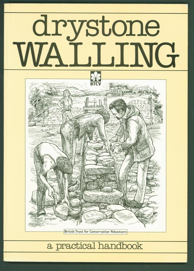 BROOKS, ALAN. - Dry stone walling. A