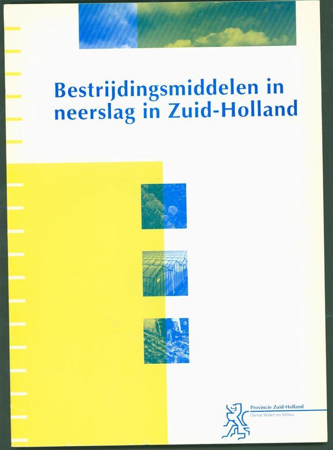 Dienst Water en Milieu, Zuid-Holland - Bestrijdingsmiddelen in neerslag in Zuid-Holland