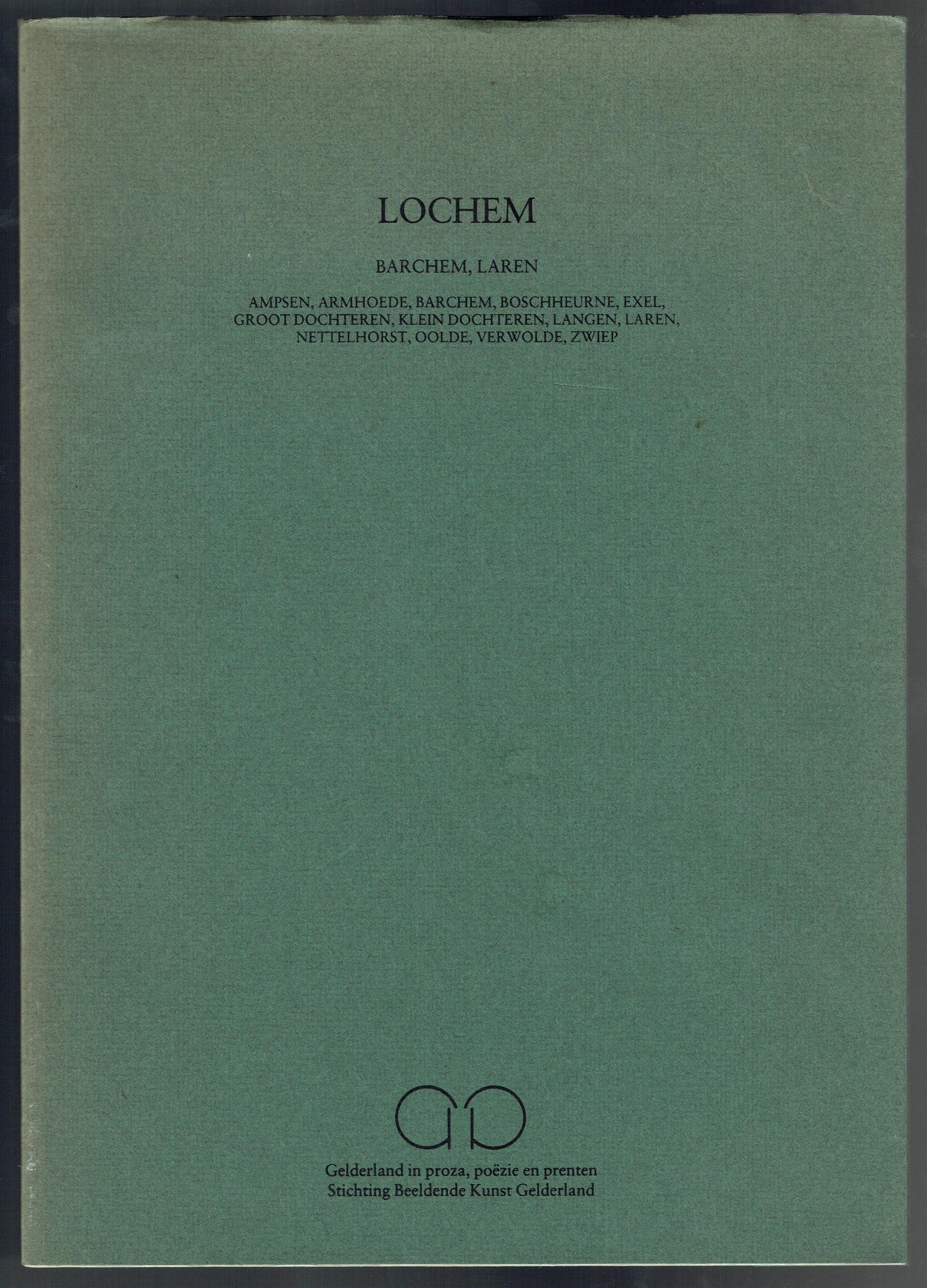 DAAN, JO (JOHANNA CATHARINA), 1910-2006. - Lochem, Barchem, Laren: Ampsen, Armhoede, Barchem, Boschheurne, Exel, Groot Dochteren, Klein Dochteren, Langen, Laren, Nettelhorst, Oolde, Verwolde, Zwiep