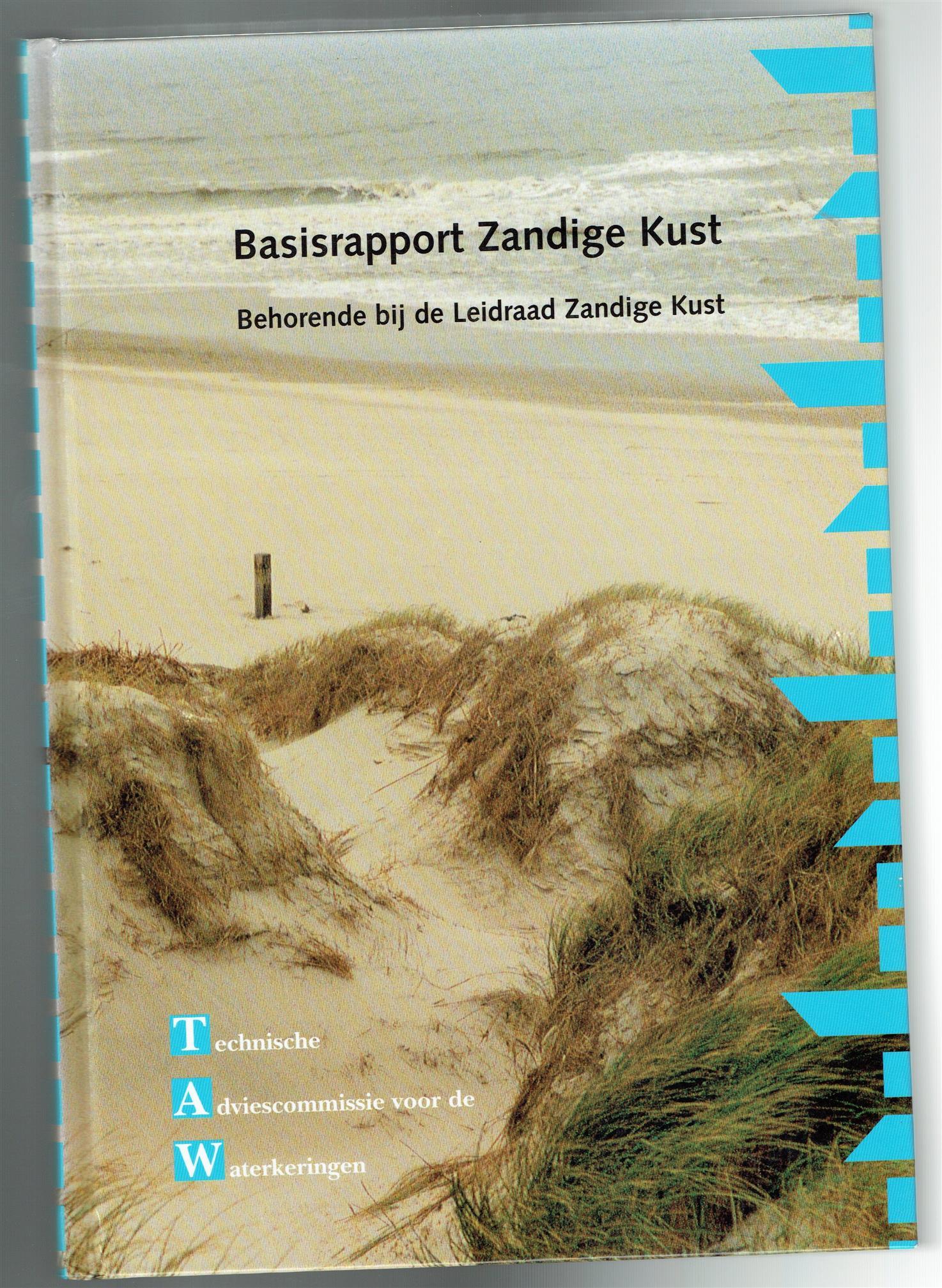 Biezen, S.C. van der, Graaff, J. van de, Technische Adviescommissie voor de Waterkeringen, Dienst Weg- en Waterbouwkunde, Delft - Basisrapport zandige kust