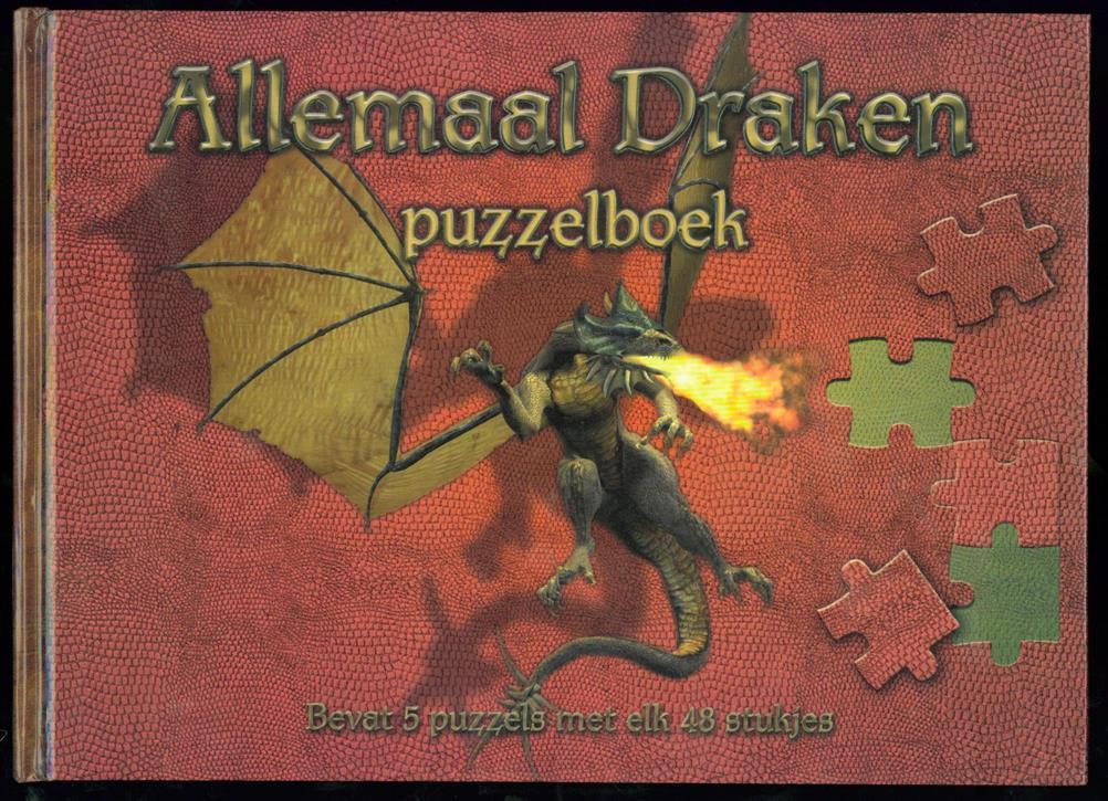 Faddegon-Doets, Marjan, J.M. Artworks - Allemaal draken : puzzelboek
