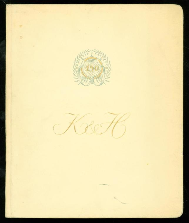 n.n. - Société Anonyme. Kennedy, Hunter & Co Ltd. One hundred and fifty years in the shipping trade.