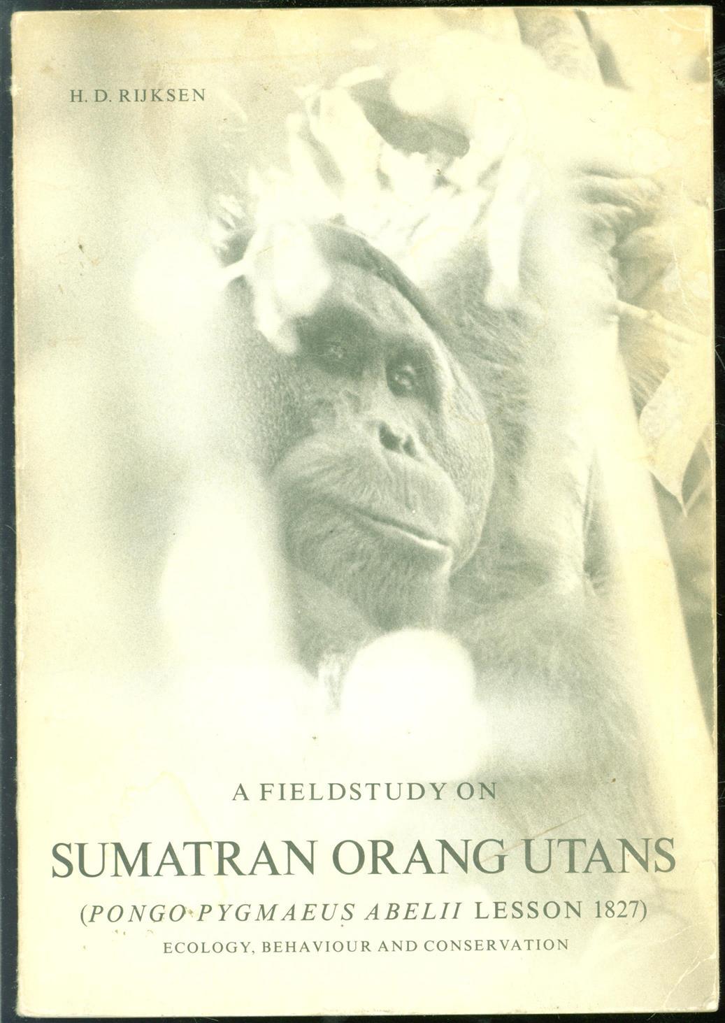 A fieldstudy on Sumatran or...