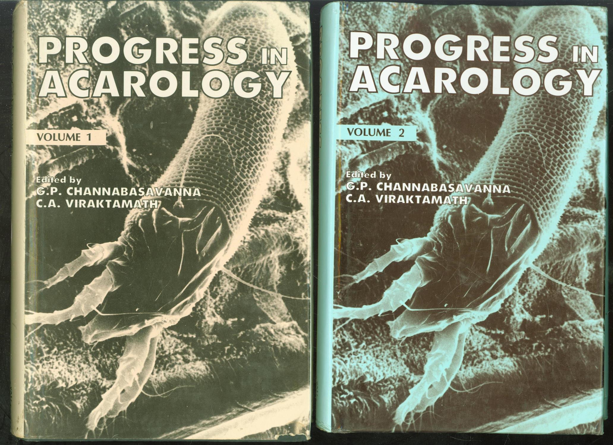 G P CHANNABASAVANNA, C A VIRAKTAMATH, INTERNATIONAL CONGRESS OF ACAROLOGY (7TH: 1986: BANGALORE, INDIA) - Progress in acarology ( vol I + II )