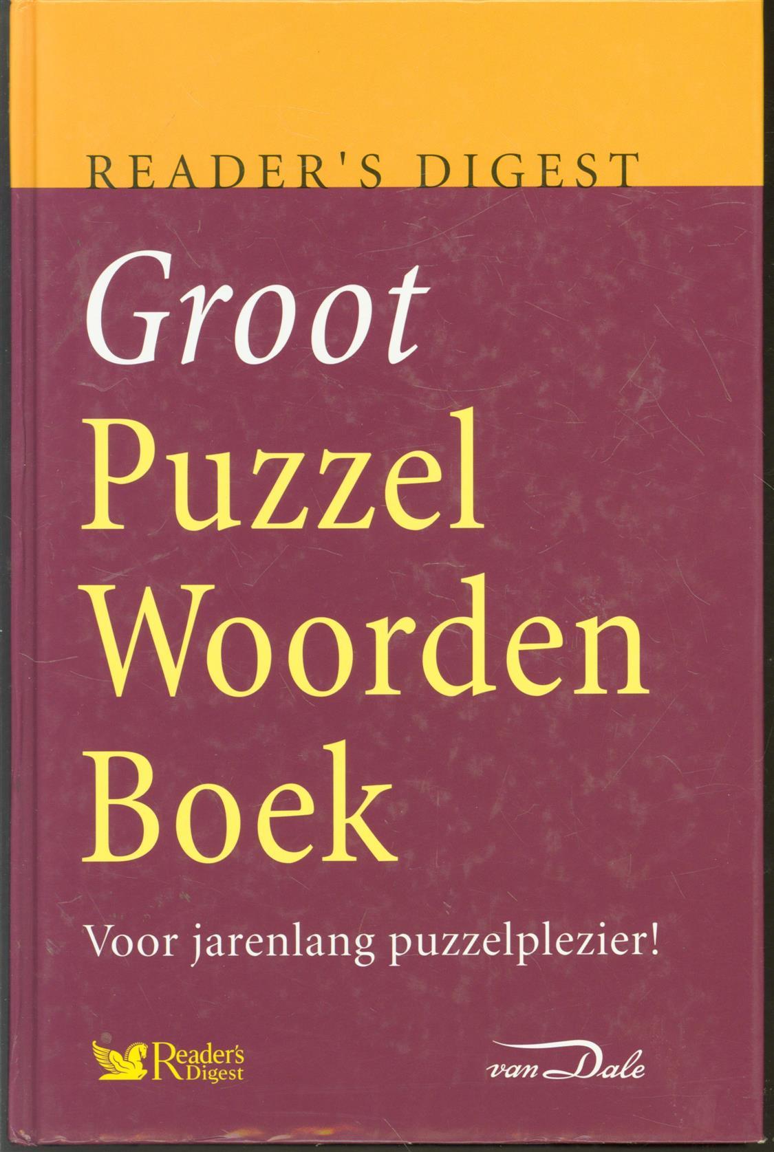 DR.H.J. VERSCHUYL., - Groot Puzzelwoordenboek. Voor jarenlang puzzelplezier!