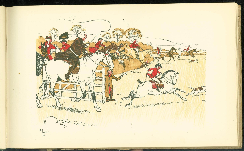 CECIL ALDIN, HENRY FIELDING - A sporting garland