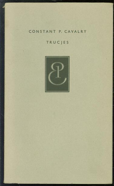 CAVALRY, CONSTANT P. - Trucjes