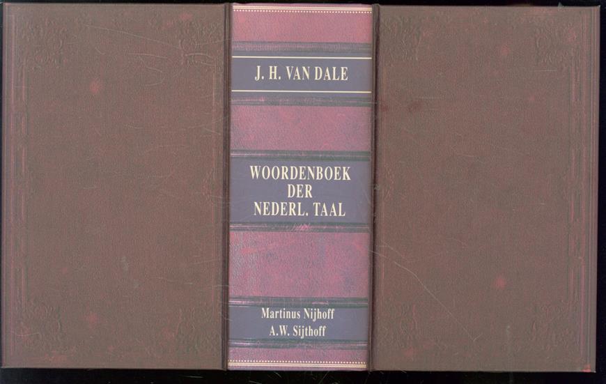 DALE, J.H. VAN - Nieuw woordenboek der Nederlandsche taal